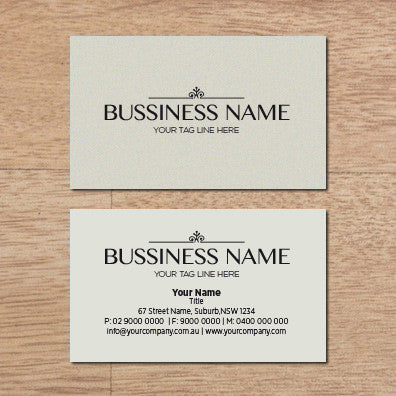 Image of business card design  B010990
