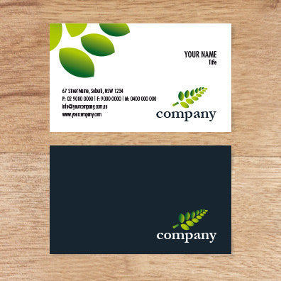 Image of business card design  B010991