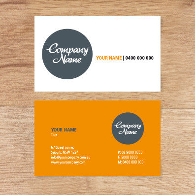 Image of business card design  B010993