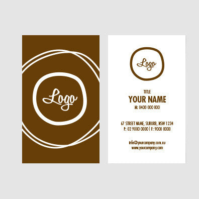 Image of business card design  B010995