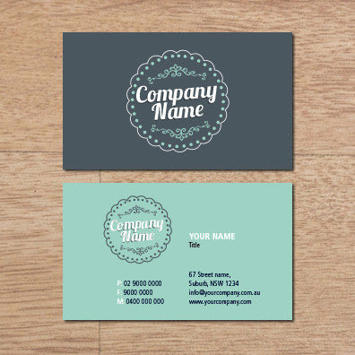 Image of business card design  B010996