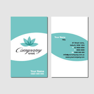 Image of business card design  B010997