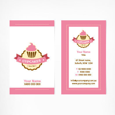Image of business card design  B010998