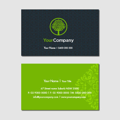 Image of business card design B011001