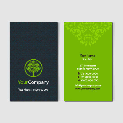 Image of business card design B011002
