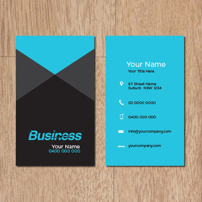 Image of business card design B011006
