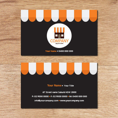 Image of business card design B011007