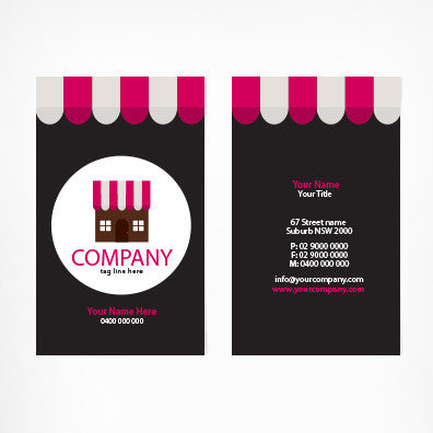 Image of business card design B011008