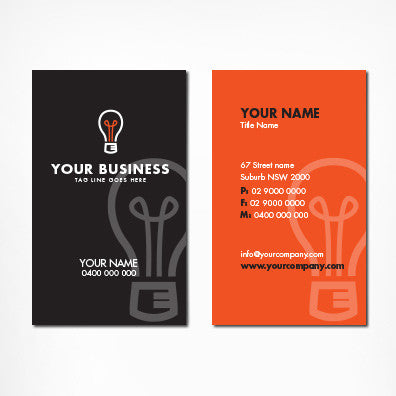 Image of business card design B011010