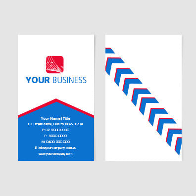 Image of business card design  B100105