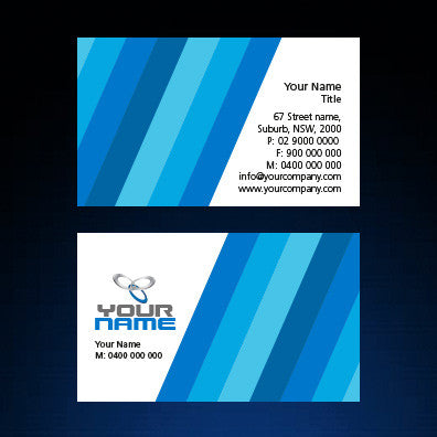 Image of business card design  B100109
