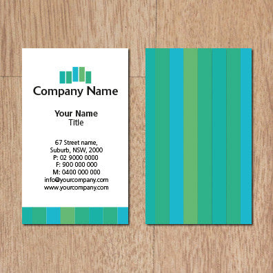 Image of business card design  B100116