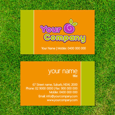 Image of business card design  B100117