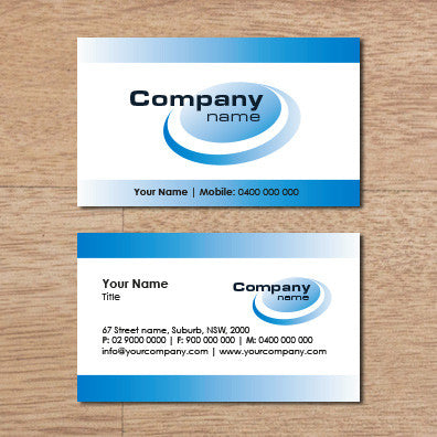 Image of business card design  B100123