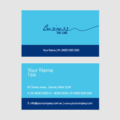 Image of business card design  B100124