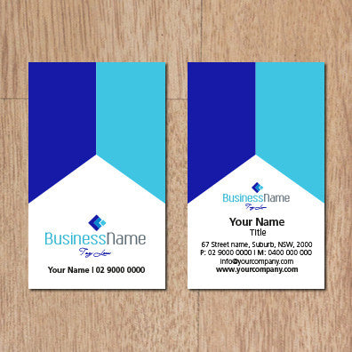 Image of business card design  B100128