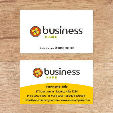 Image of business card design  B100129