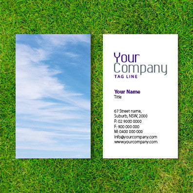 Image of business card design  B100131