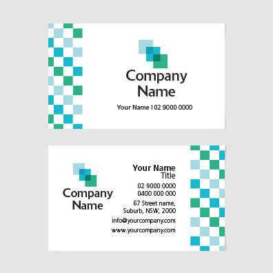 Image of business card design  B100132