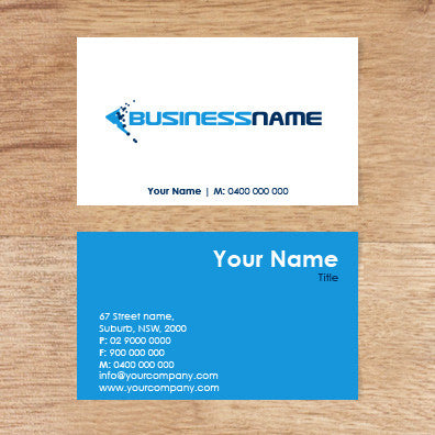Image of business card design  B100133