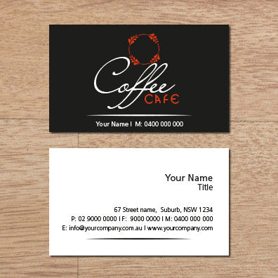 Image of business card design  B100137