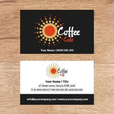 Image of business card design  B100138