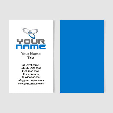 Image of business card design  B100143