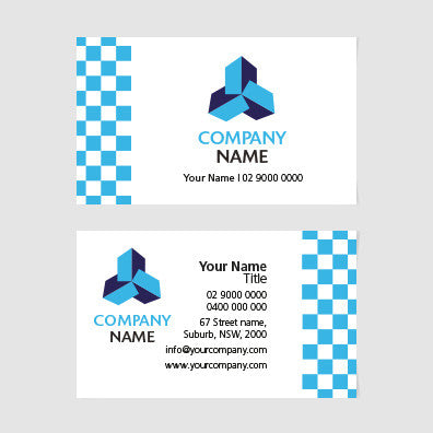 Image of business card design  B100145