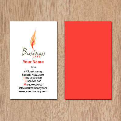 Image of business card design  B100148