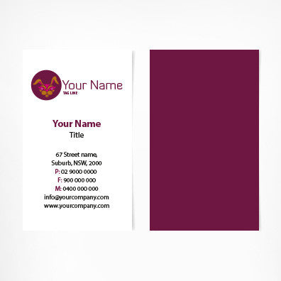 Image of business card design  B100150