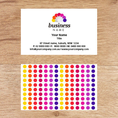 Image of business card design  B100154