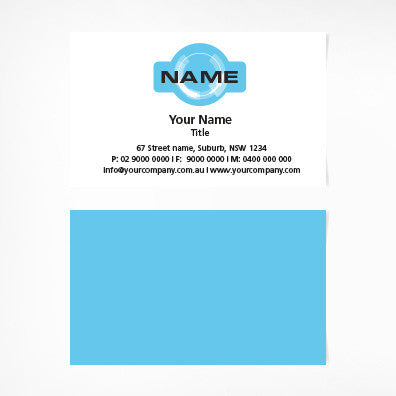 Image of business card design  B100156