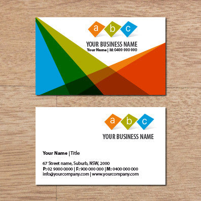 Image of business card design  B100158