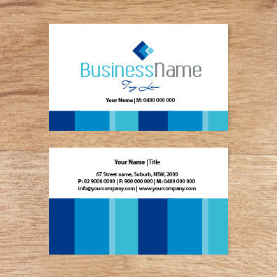 Image of business card design  B100159