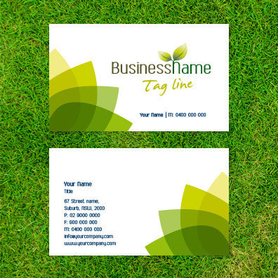 Image of business card design  B100161