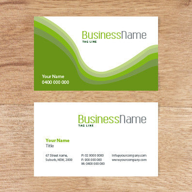 Image of business card design  B100162