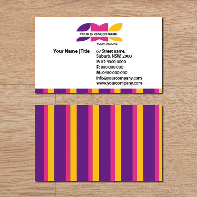 Image of business card design  B100163