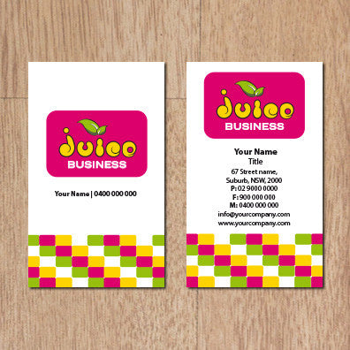 Image of business card design  B100167