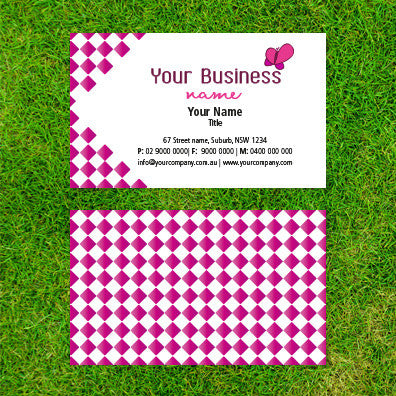 Image of business card design  B100168
