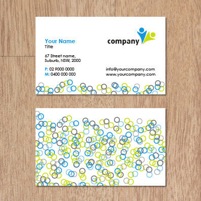 Image of business card design  B100240