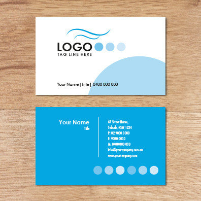 Image of business card design  B100241