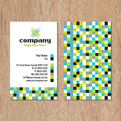 Image of business card design  B100243