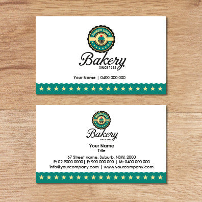 Image of business card design  B100244