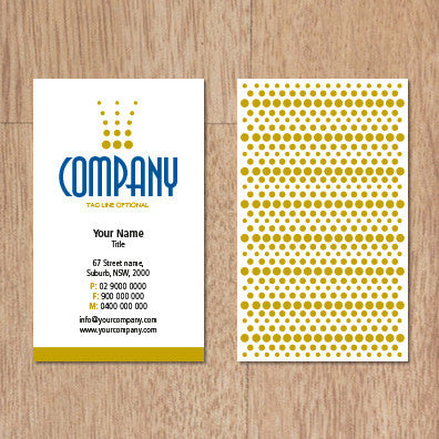 Image of business card design  B100246