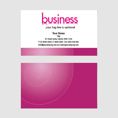 Image of business card design  B100247