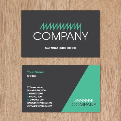 Image of business card design  B100249