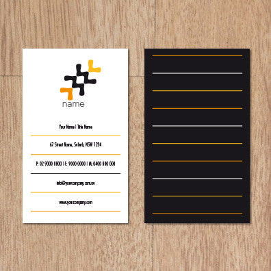 Image of business card design  B100252
