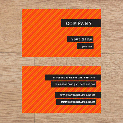 Image of business card design B100262