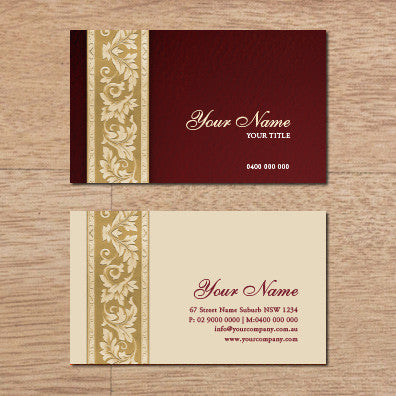 Image of business card design B100264