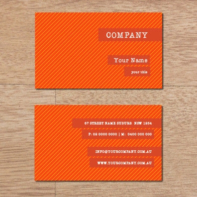 Image of business card design B100269